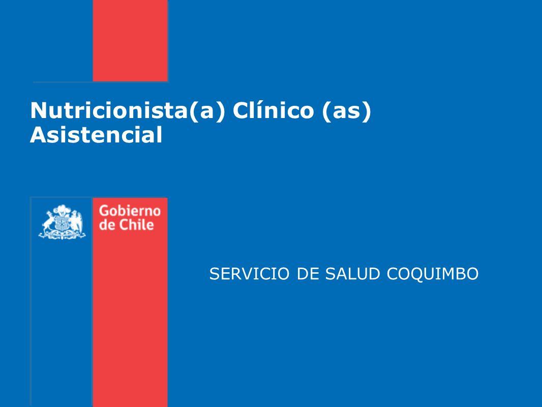 Nutricionista(a) Clínico (as) Asistencial