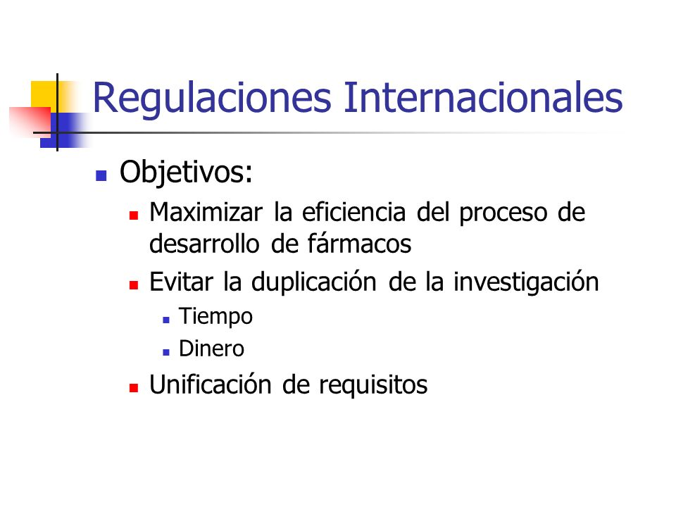 Regulaciones Internacionales