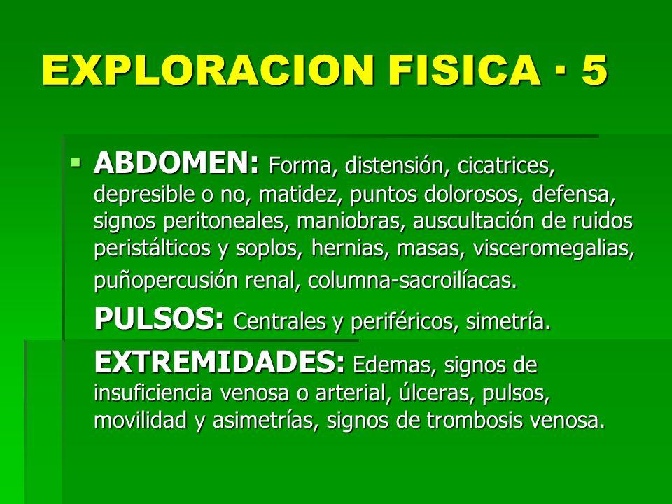 EXPLORACION FISICA · 5