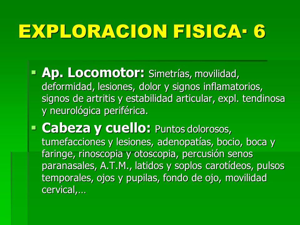EXPLORACION FISICA· 6