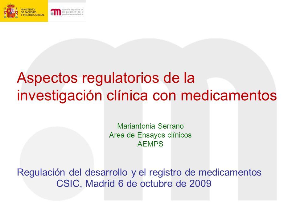Area de Ensayos clínicos