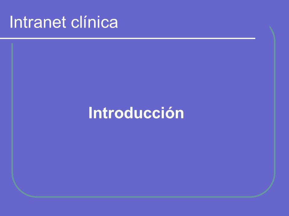 Intranet clínica Introducción