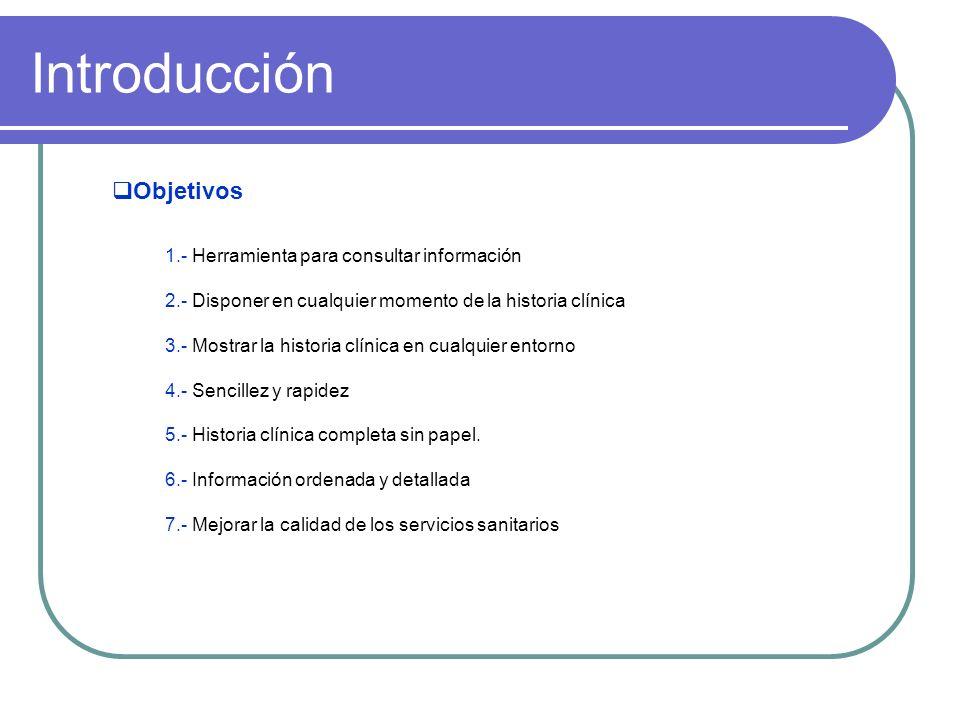 Introducción Objetivos 1.- Herramienta para consultar información