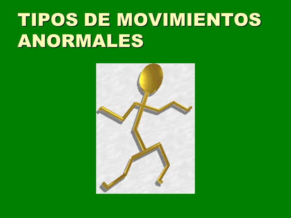 TIPOS DE MOVIMIENTOS ANORMALES