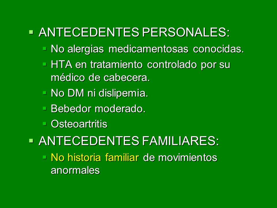 Movimientos anormales ppt video online descargar - Cambiar de medico de cabecera por internet ...