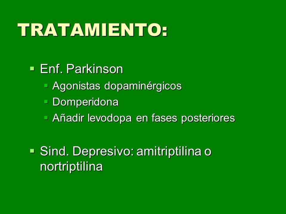 TRATAMIENTO: Enf. Parkinson