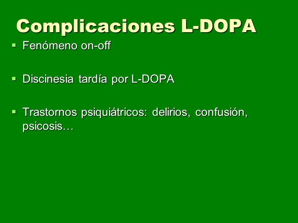 Complicaciones L-DOPA