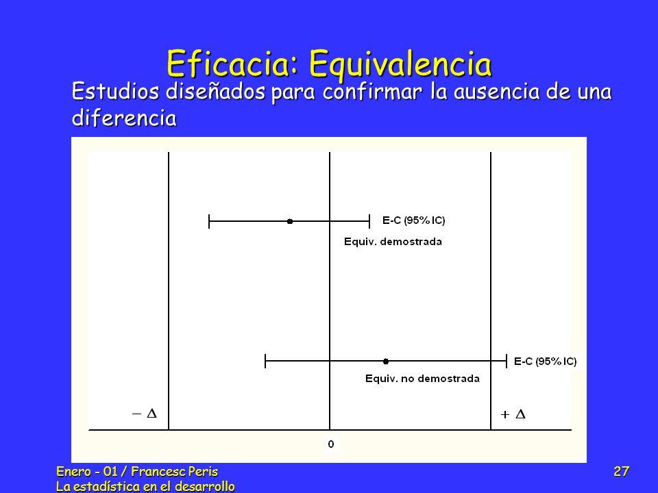 Eficacia: Equivalencia