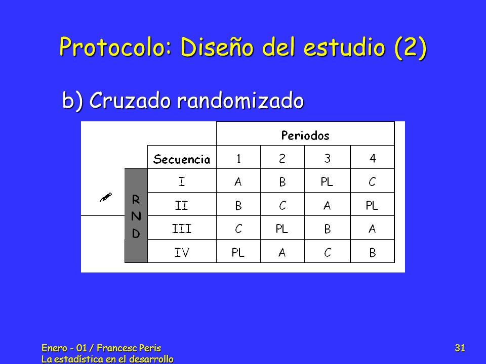 Protocolo: Diseño del estudio (2)