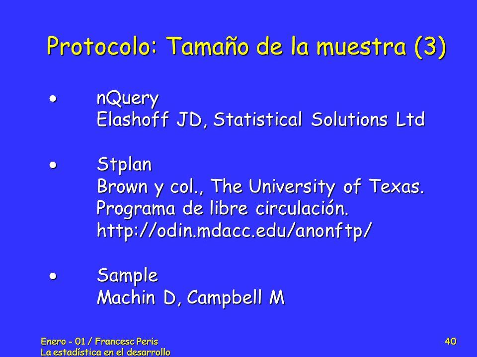 Protocolo: Tamaño de la muestra (3)