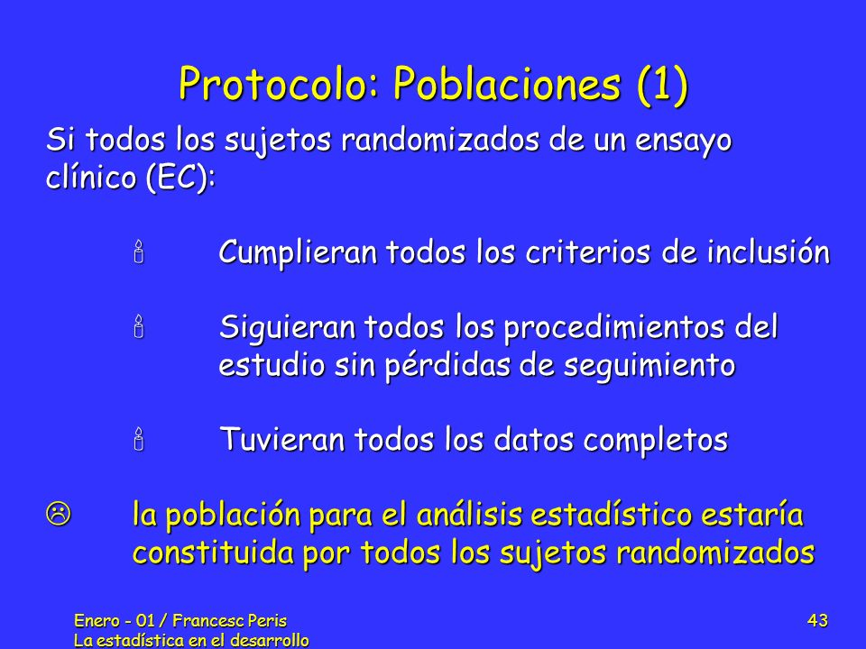 Protocolo: Poblaciones (1)