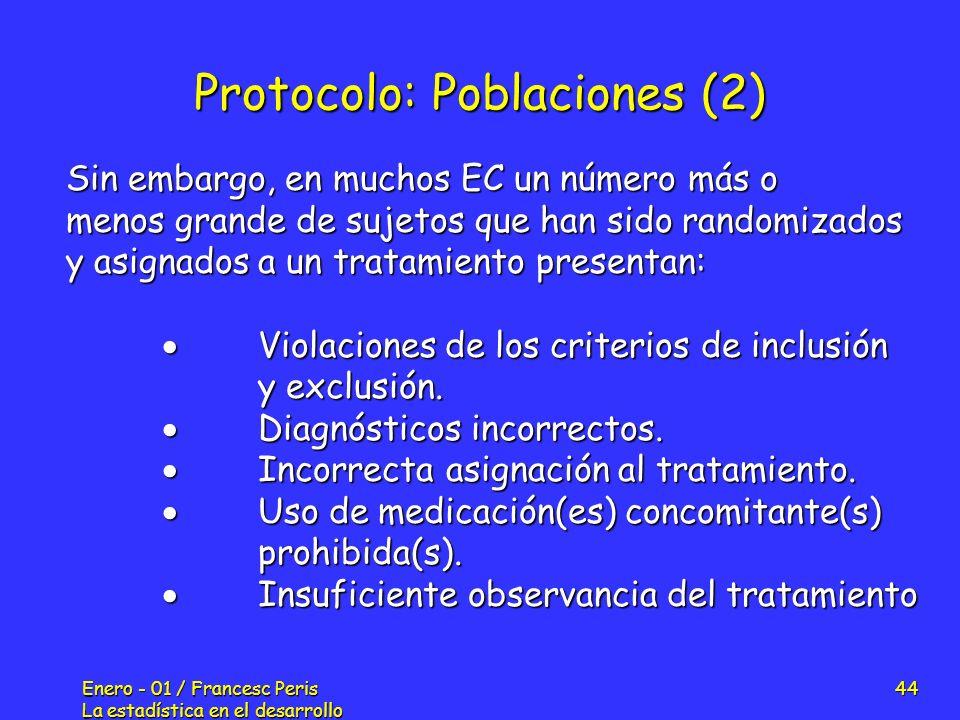Protocolo: Poblaciones (2)