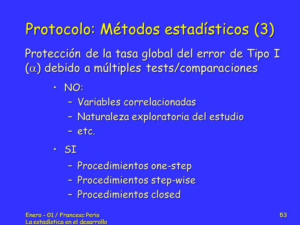 Protocolo: Métodos estadísticos (3)