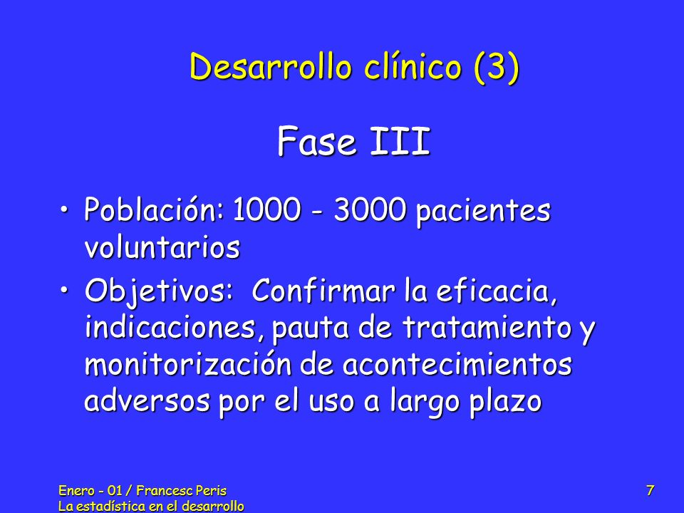 Fase III Desarrollo clínico (3)