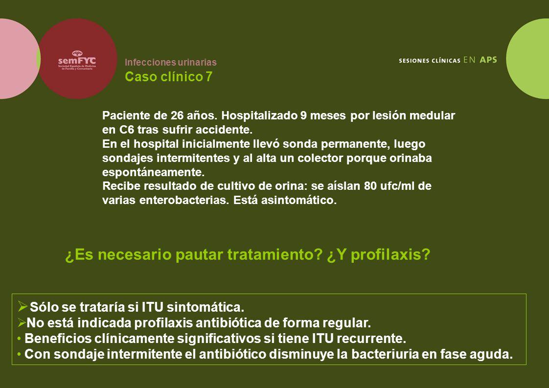 Infecciones urinarias Caso clínico 7