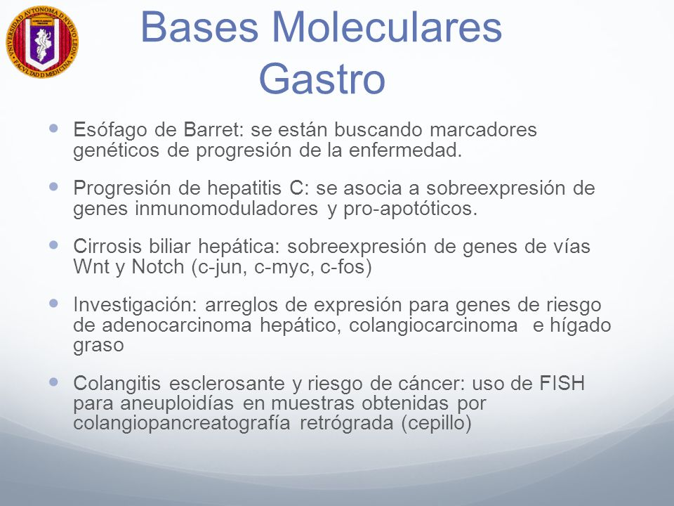 Bases Moleculares Gastro