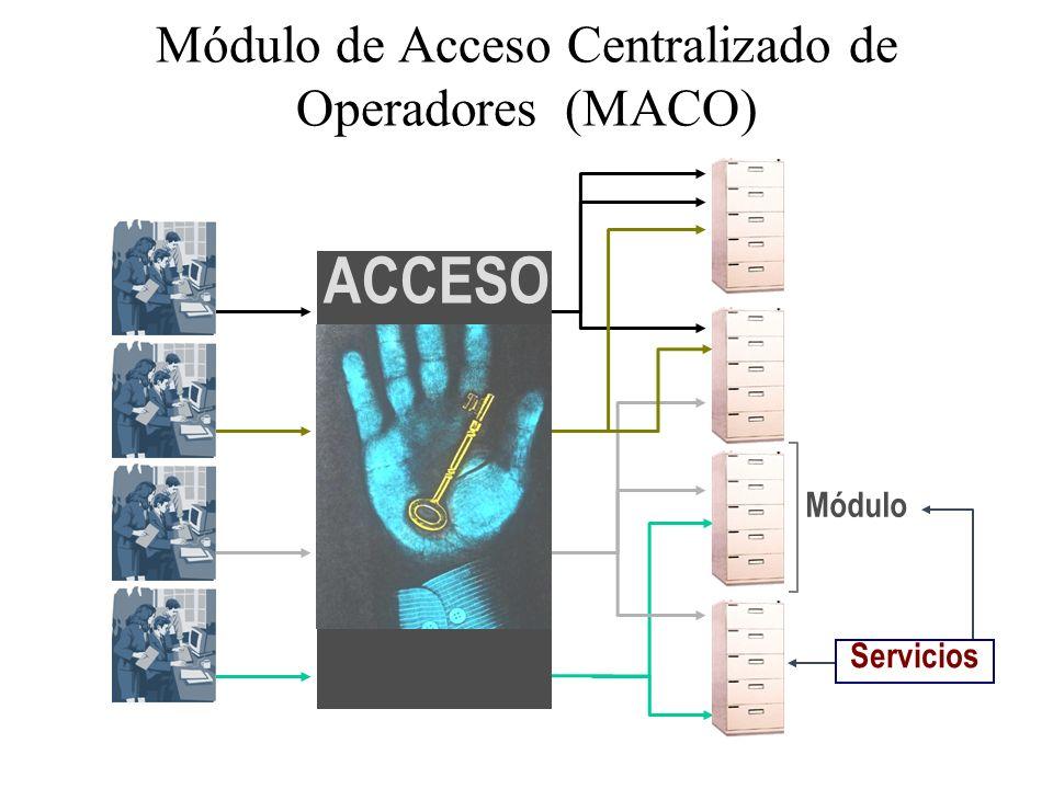 Módulo de Acceso Centralizado de Operadores (MACO)