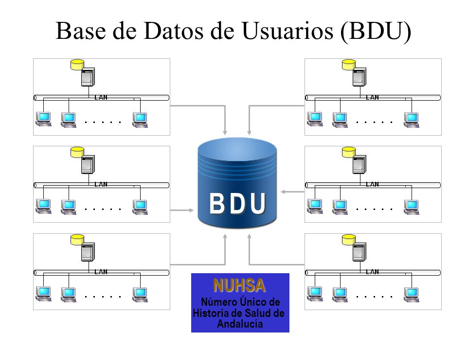 Base de Datos de Usuarios (BDU)