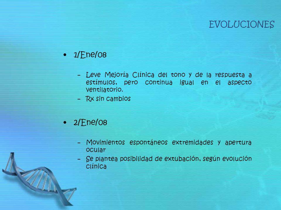 EVOLUCIONES 1/Ene/08 2/Ene/08