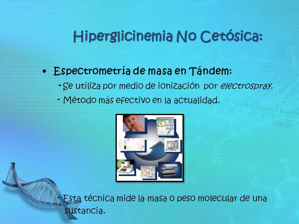 Hiperglicinemia No Cetósica:
