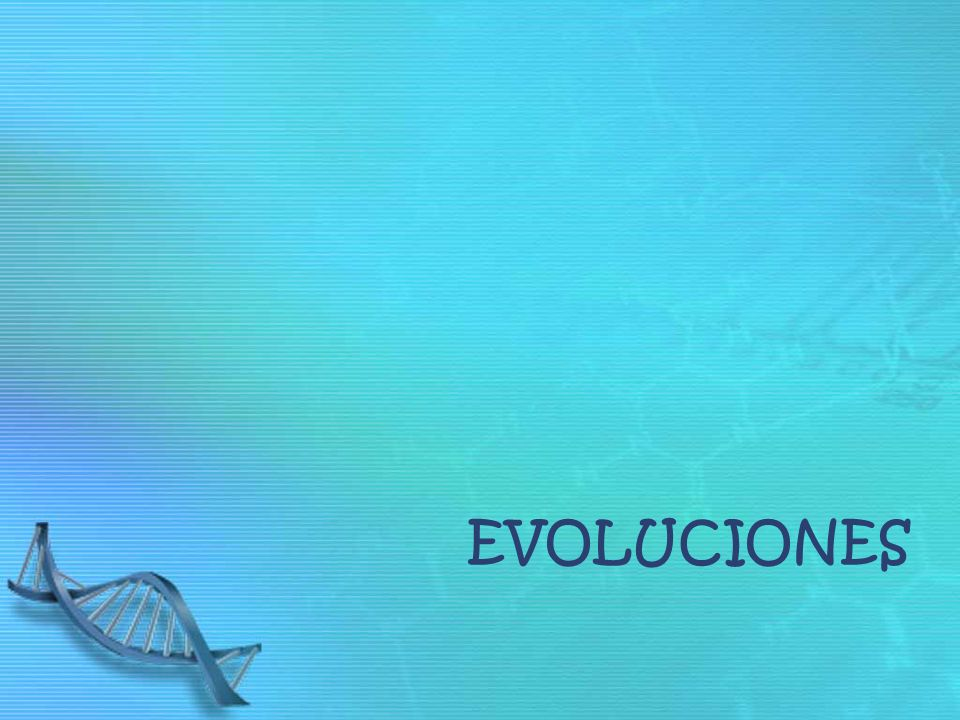 evoluciones