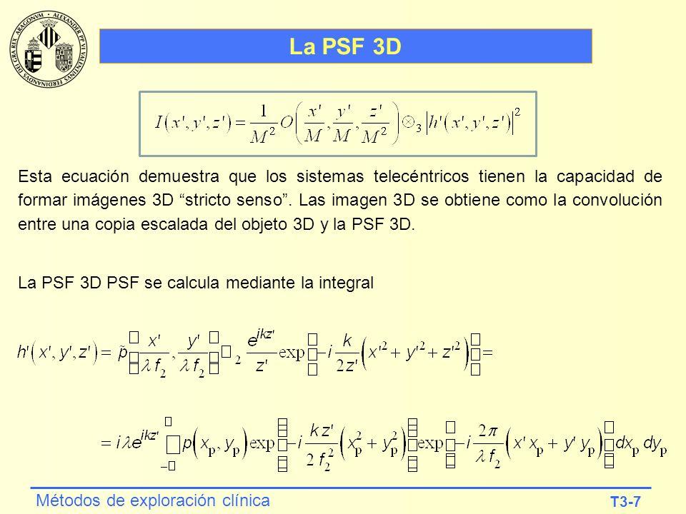 La PSF 3D