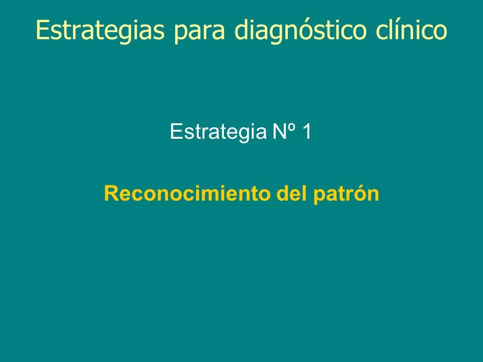 Estrategias para diagnóstico clínico