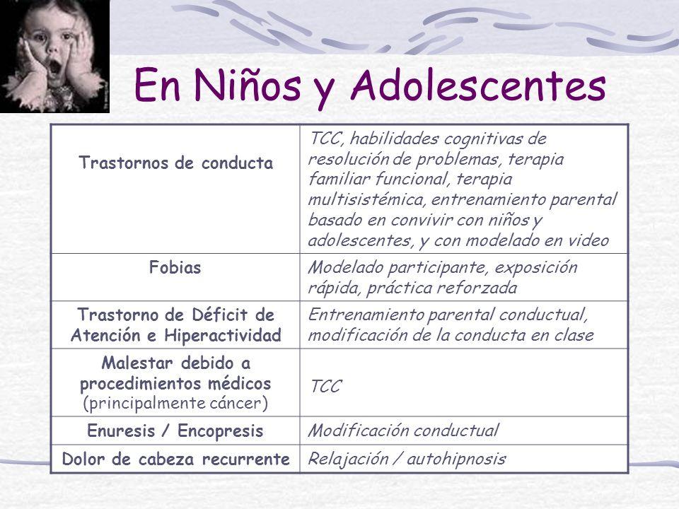 En Niños y Adolescentes