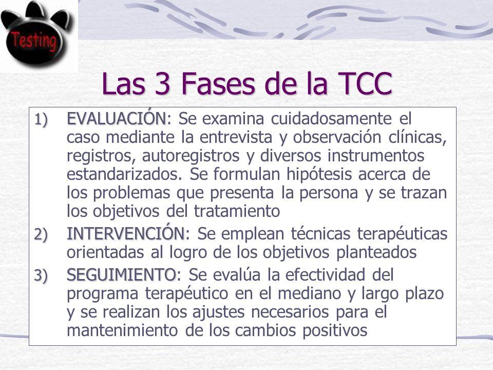 Las 3 Fases de la TCC
