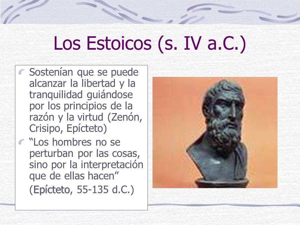 Los Estoicos (s. IV a.C.)