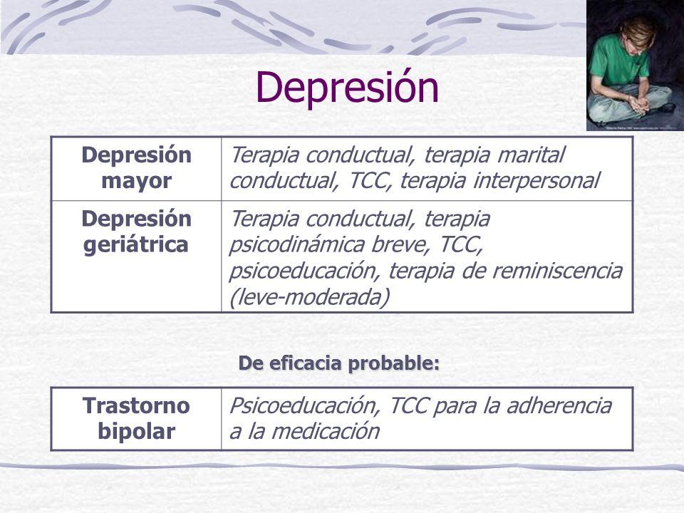 Depresión Depresión mayor