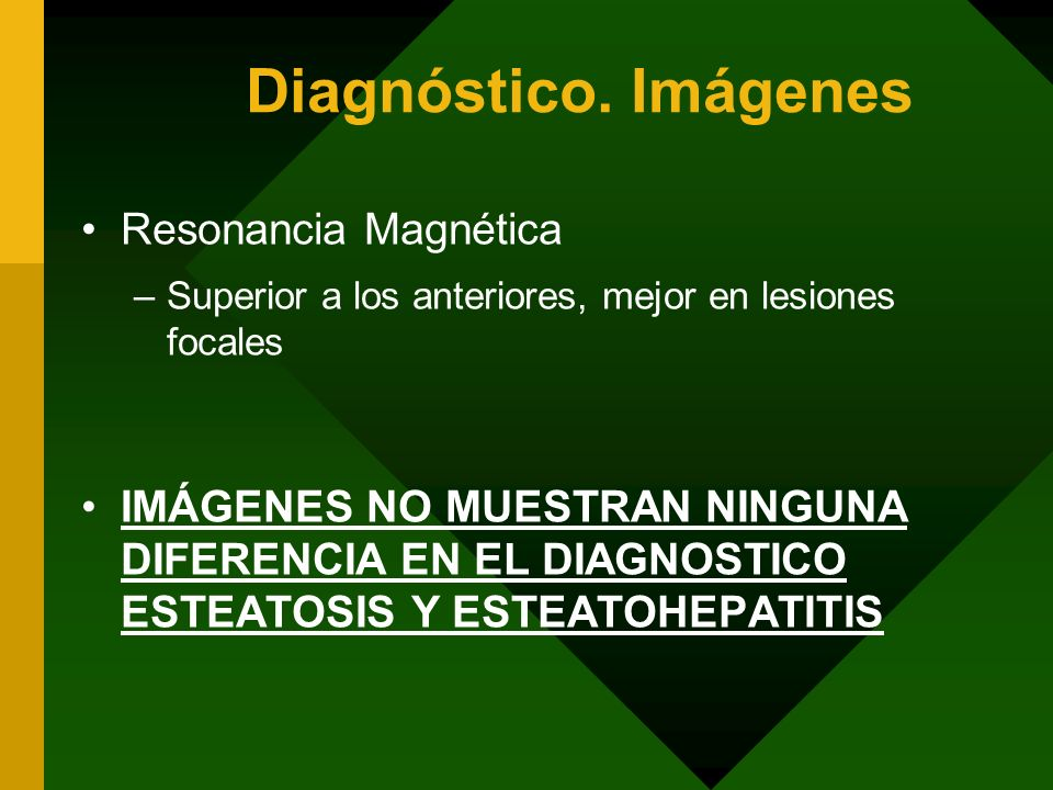 Diagnóstico. Imágenes Resonancia Magnética