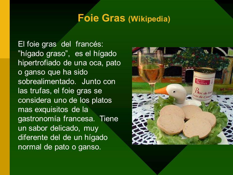 Foie Gras (Wikipedia)