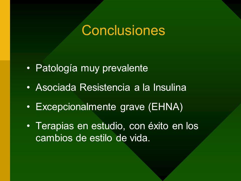 Conclusiones Patología muy prevalente