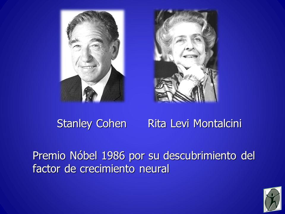 Stanley Cohen Rita Levi Montalcini