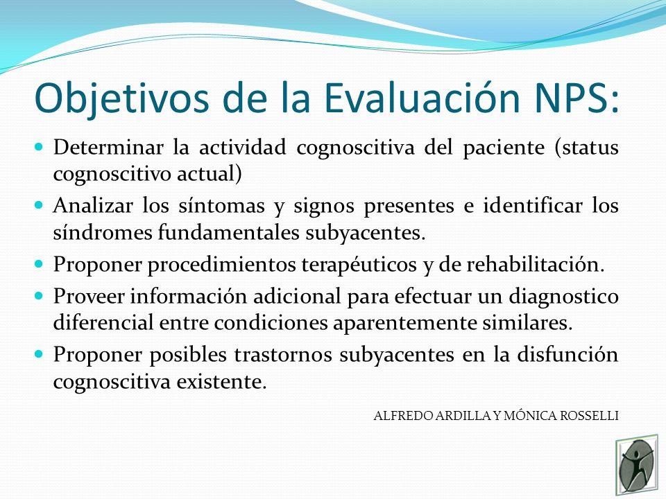 Objetivos de la Evaluación NPS: