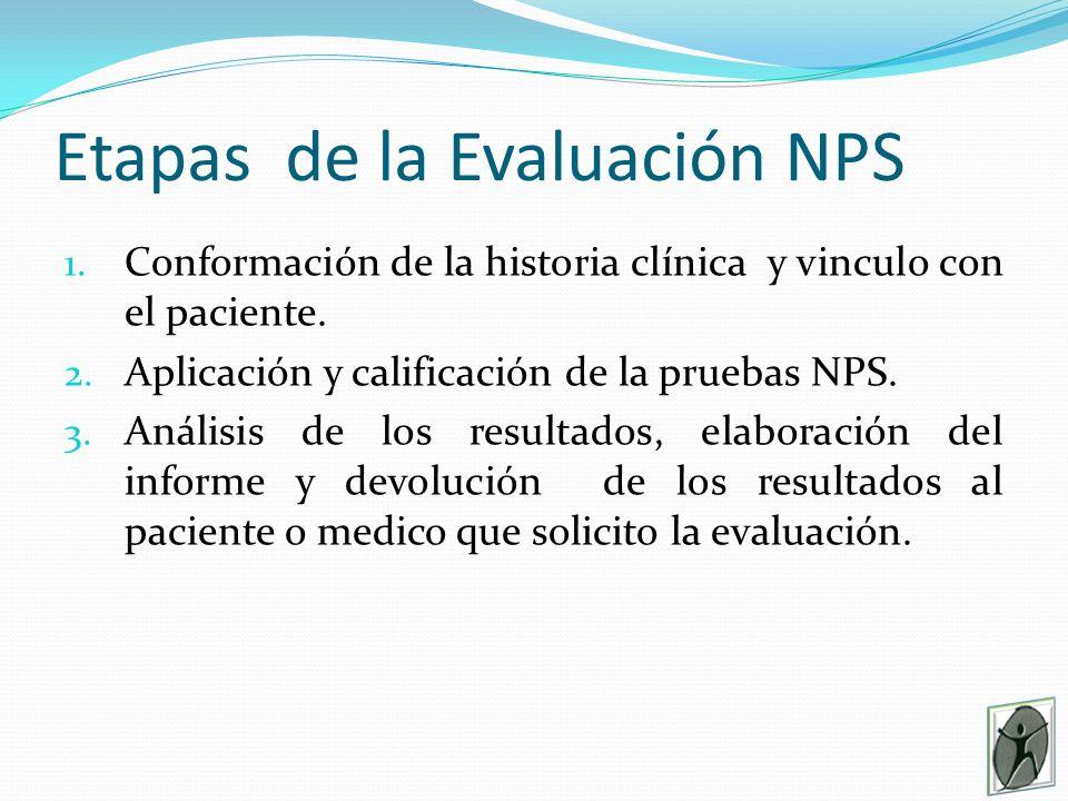 Etapas de la Evaluación NPS