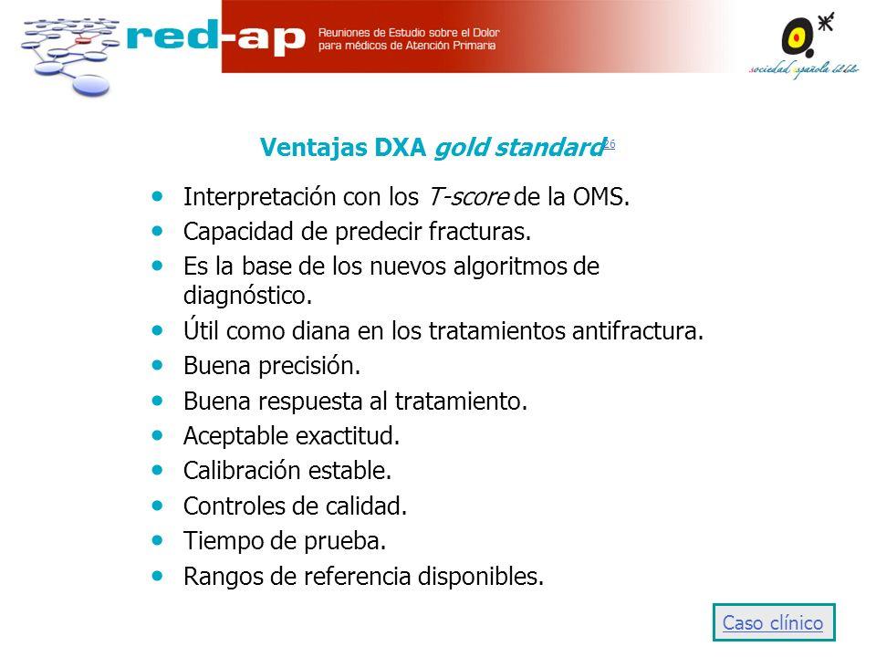 Ventajas DXA gold standard26