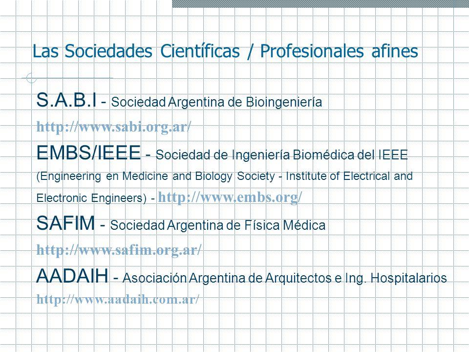 S.A.B.I - Sociedad Argentina de Bioingeniería