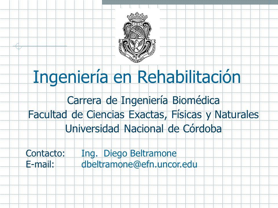 Ingeniería en Rehabilitación