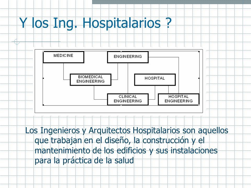 Y los Ing. Hospitalarios
