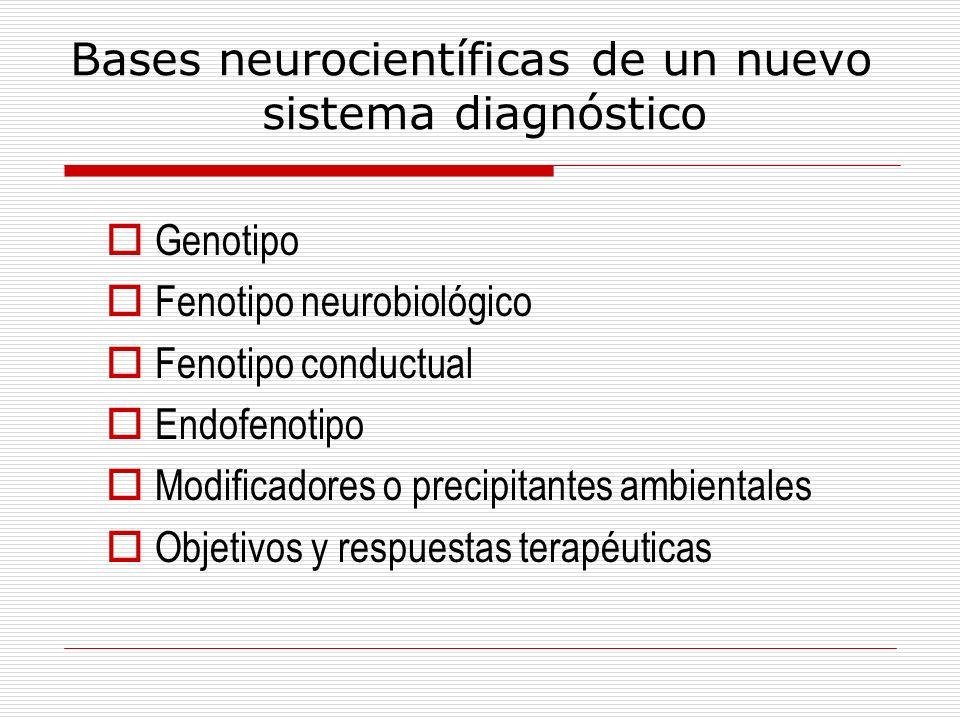 Bases neurocientíficas de un nuevo sistema diagnóstico