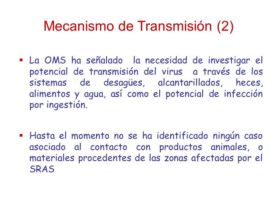 Mecanismo de Transmisión (2)