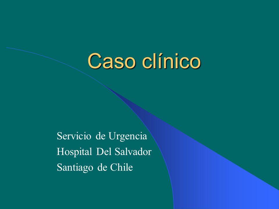 Servicio de Urgencia Hospital Del Salvador Santiago de Chile