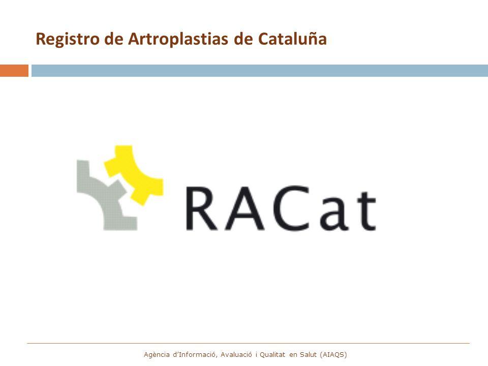 Registro de Artroplastias de Cataluña