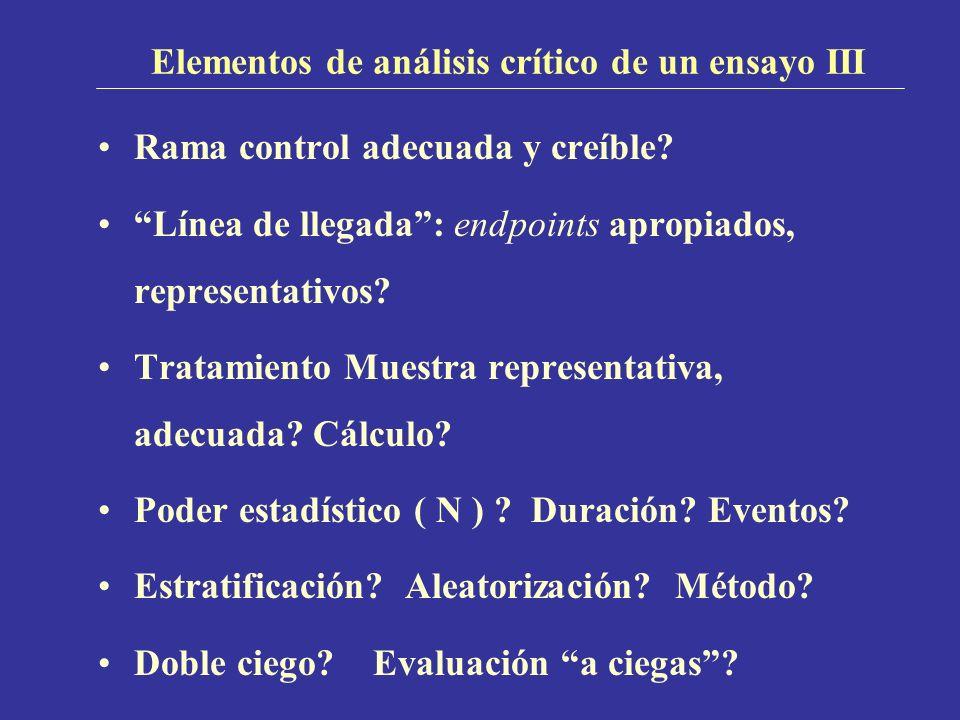 Elementos de análisis crítico de un ensayo III