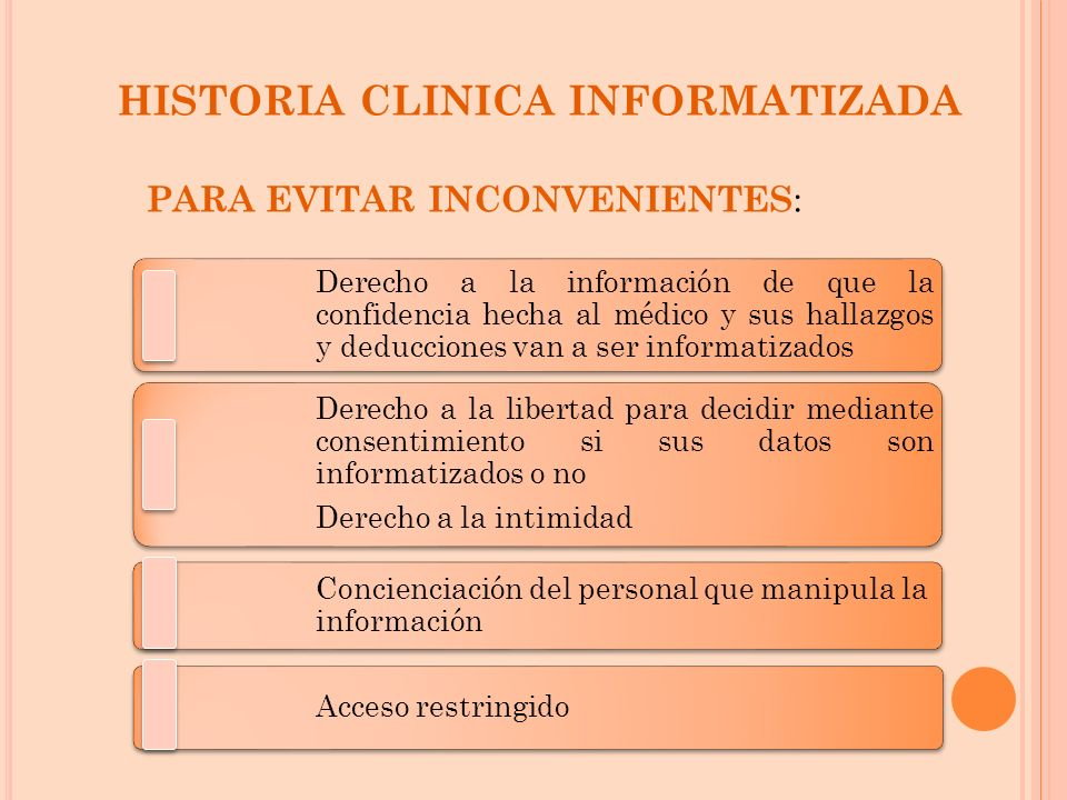 HISTORIA CLINICA INFORMATIZADA