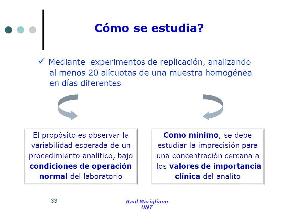 Cómo se estudia Mediante experimentos de replicación, analizando