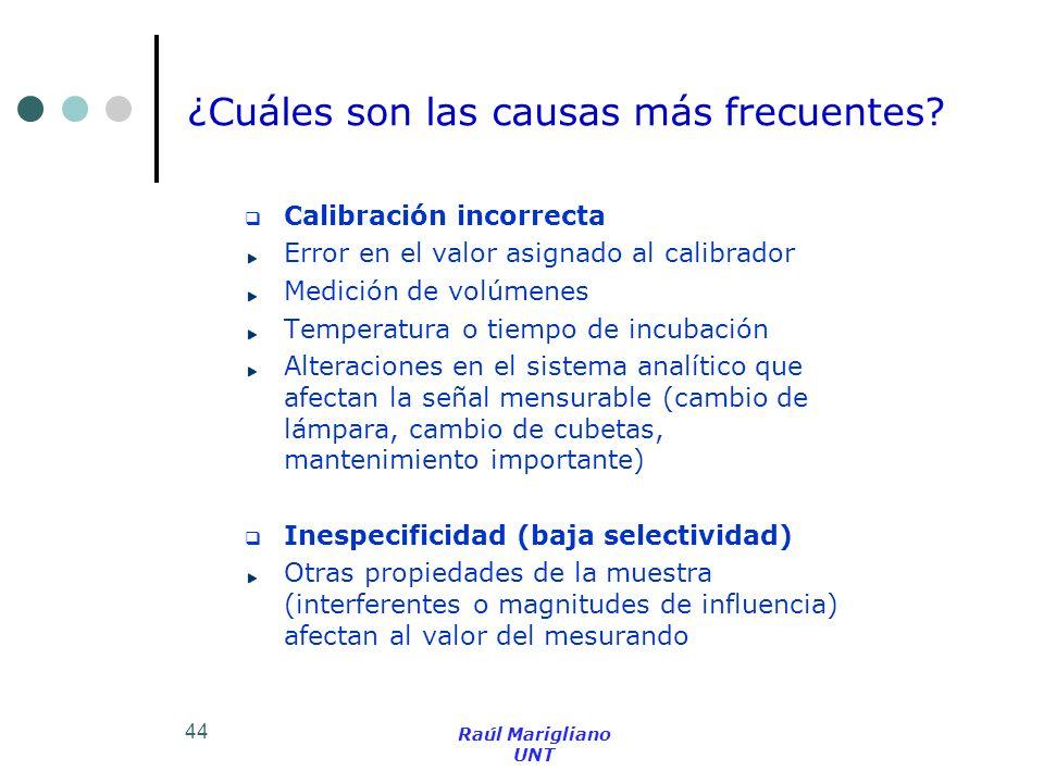 ¿Cuáles son las causas más frecuentes