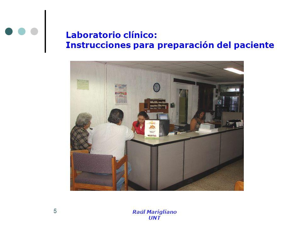 Instrucciones para preparación del paciente